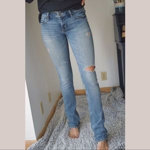 Distressed Bootcut